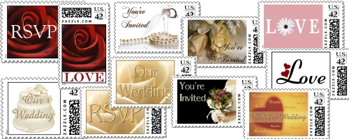 custom wedding stamps