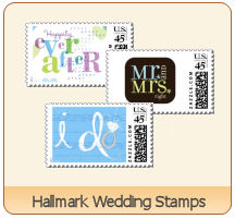 hallmark wedding stamps