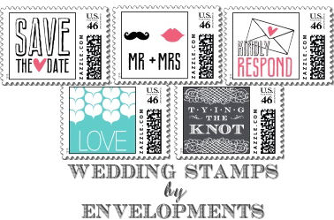 envelopments wedding stamps